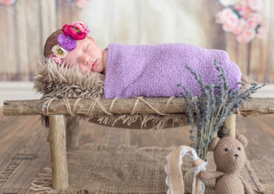 Hayley – 8 days old