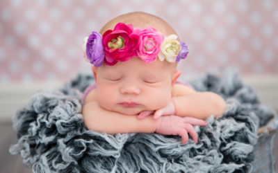 Amieka 9 days old – Pretoria East Newborn Photographer